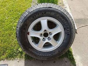 BFGoodrich Radial Long Trail tire (off Santa Fe)