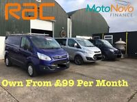 Finance Your Van of Choice at The Yard Nutts Corner
