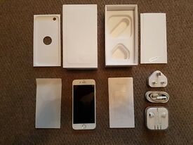 Boxed Iphone 6 / 16GB / White / EE Network - Mint Condition (As New)