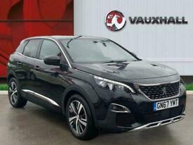image for 2017 Peugeot 3008 1.2 Puretech Gt Line Suv 5dr Petrol s/s 130 Ps Estate PETROL M
