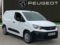 2020 Peugeot Partner 1.5 Bluehdi 1000 Professional Standard Panel Van 5dr Diesel