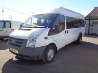 Ford Transit Medium Roof 17 Seater Minibus Tdci 100Ps [6] DIESEL MANUAL (2011)