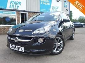 2015 Vauxhall / Opel ADAM 1.4i VVT 16v JAM ONE OWNER ONLY 21,000 MILES BLACK