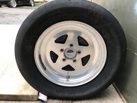 "Rare 15"" Bogart fly star Magnesium wheels (5x114.3)"