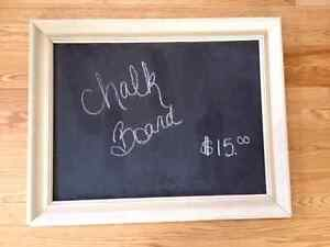 Vintage chalk/ memo boards