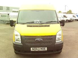 Ford Transit T280 SWB LOW ROOF VAN TDCI 100PS DIESEL MANUAL WHITE (2014)