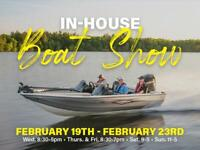 Smith's RV Centre's In-House Boat Show - ON NOW!