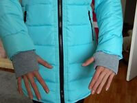NEW - The blue jacket for girls 13-14 years ( unused)