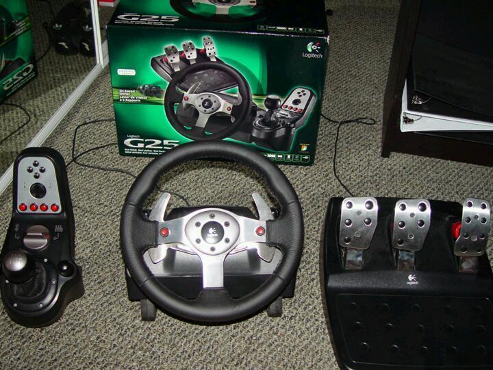 Wheels G25 Logitech G25 Steering Wheel