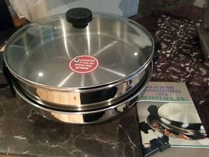 High Dome Stainless Steel 5 Ply Buffet Server