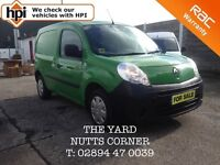 2011 Renault Kangoo 1.5L DCi 70 with Low Miles