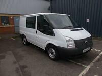 Ford Transit Low Roof D/Cab Van Tdci 100Ps DIESEL MANUAL WHITE (2012)