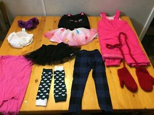 90-Piece Lot of Name Brand Girls Clothing (most 3T-5T)