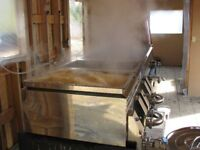 Dominion & Grimm Wood Fired Stainless Steel Evaporator