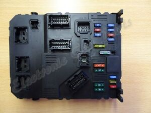 citroen xsara picasso bsi fuse box 9653667680 s118085220 mod2212e. Black Bedroom Furniture Sets. Home Design Ideas