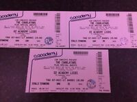 The Charlatans Concert Tickets x3....Leeds O2 Academy.....7th Dec 2017