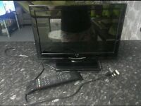 """ALBA 18"""" TV WITH BUILT IN FREEVIEW. BARGAIN AT £30.00"""