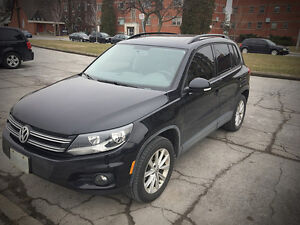 FULLY LOADED LEASE: 2015 Volkswagen Tiguan SUV