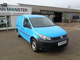 Volkswagen Caddy 1.6 Tdi 102Ps Van with Electric pack/Air Con DIESEL BLUE (2013)