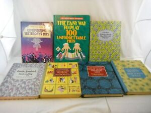 Seven Assorted Readers Digest Music Books from 1980's and 1990's