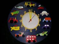 Transport Clock Handmade