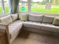 Brand new static caravan for sale including fees in Mablethorpe/Skegness/LOW SITE FEES/entertainment