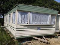 Static Caravan ,Bluebird Calypso 28 by 12 foot. For Sale