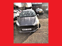 9100 Miles-- 2016 Ford Fiesta 1.0 T EcoBoost Zetec 5 Door --- Part Exchange OK --- Great Condition