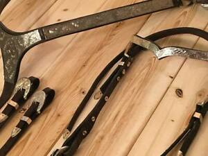 Western Show Bridle, Reins and Breastplate