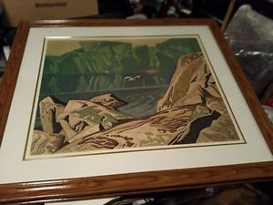 Group of Seven Authentic Prints (Framed)
