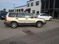 2005 Subaru Forester X=AWD+safety+E/TEST INCLUDED,WARRANTY IS AV