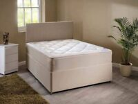 """8-9"""" thick orthopaedic mattress and base only £169 in a double (New in packaging)"""