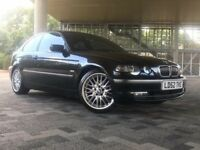 BMW 3 Series 2.5 325ti SE Compact 3dr Petrol Manual ((IMMACULATE+10M MOT+W.MILEAGE))