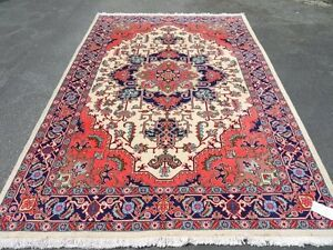 15599-Meshkin Hand-Knotted/Handmade Persian Rug/Carpet Tribal/No