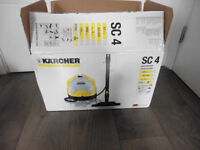 Kärcher SC4 All-In-One Continuous Steam Cleaner, 1900 W, 3.5 Bar (brand new)