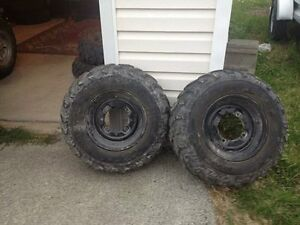 4 Tires and Rims
