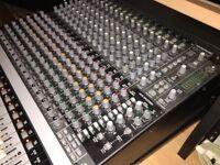 Mackie Onyx 1640 Mixer w/ Firewire card & rack ears