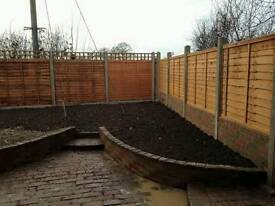 All fencing work carried out