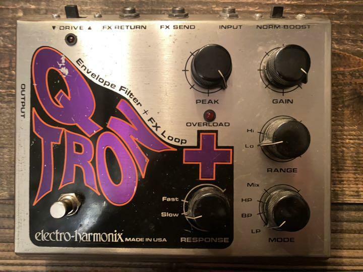 electro-harmonix Q-TRON + Elehamo Auto Wow Pedal