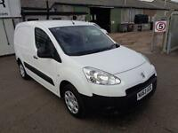 Peugeot Partner L1 850S 1.6 HDI 90BHP VAN DIESEL MANUAL WHITE (2013)