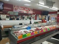Butchers shop for sale in East London in heart of Shadwell- Price reduced-Offers accepted