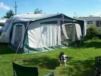 Bradcot Caravan awning size 7, 800 - 825