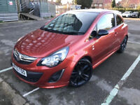 2013 (63) Vauxhall Corsa 1.2 i 16v Limited Edition Orange 3dr (a/c) 6 Months Warranty Included