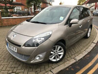 2010 (10) RENAULT GRAND SCENIC 2.0 TD FAP PRIVILEGE TOMTOM AUTOMATIC 7 SEATER 6 MONTHS WARRANTY