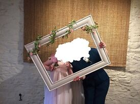 Photo Booth Frame With Garland
