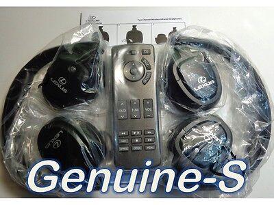 OEM 2012-2016 Lexus LX570 LX 570 Car Rear Entertainment 1 Remote +2headphones