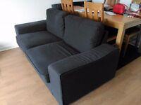 IKEA Kivic 3 Seater Fabric Sofa