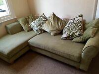 DFS chaise longue / corner sofa