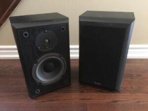Black Infinity Speakers