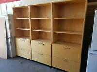 Large office shelving units £70 each x3 available
